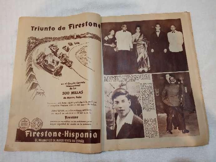 Imagen Antiguo periódico ABC del año 1957