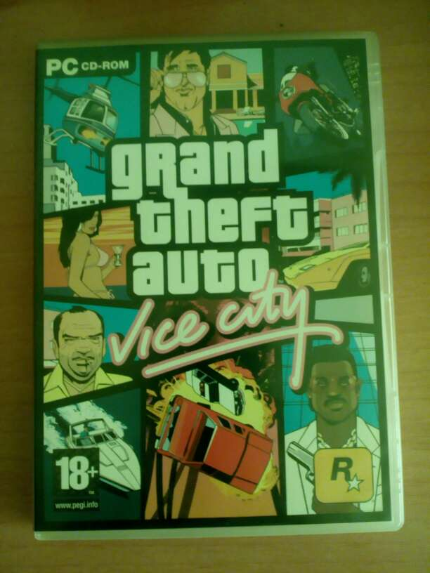 Imagen Grand theft auto vice city para pc