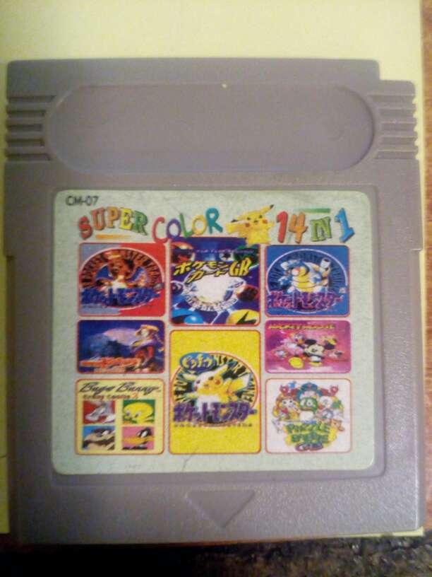 Imagen Juegos Game boy color 14 juegos en 1