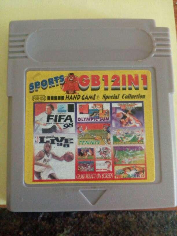 Imagen Juegos Game boy 12 juegos en uno