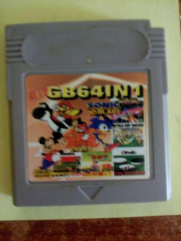 Imagen Juegos Game boy 64 juegos en 1