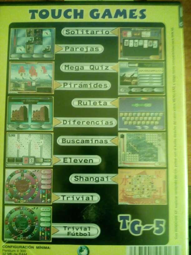 Imagen producto Touch games pc 11 juegos Vol 5 2