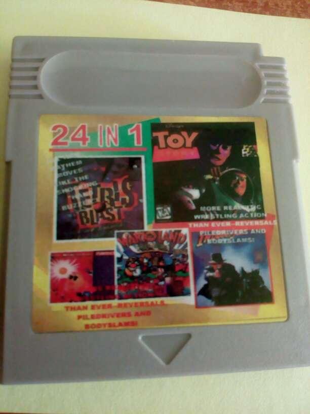 Imagen Juegos Game boy 24 juegos en uno