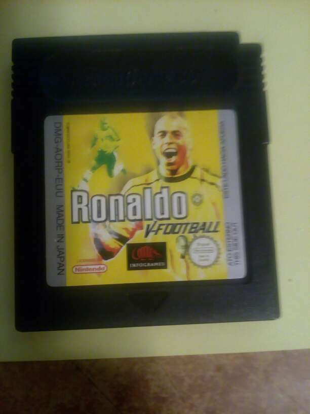 Imagen Ronaldo V-Football de game boy color