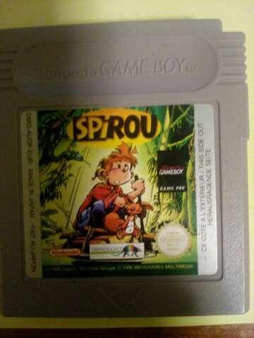 Imagen Juego Game Boy Spirou