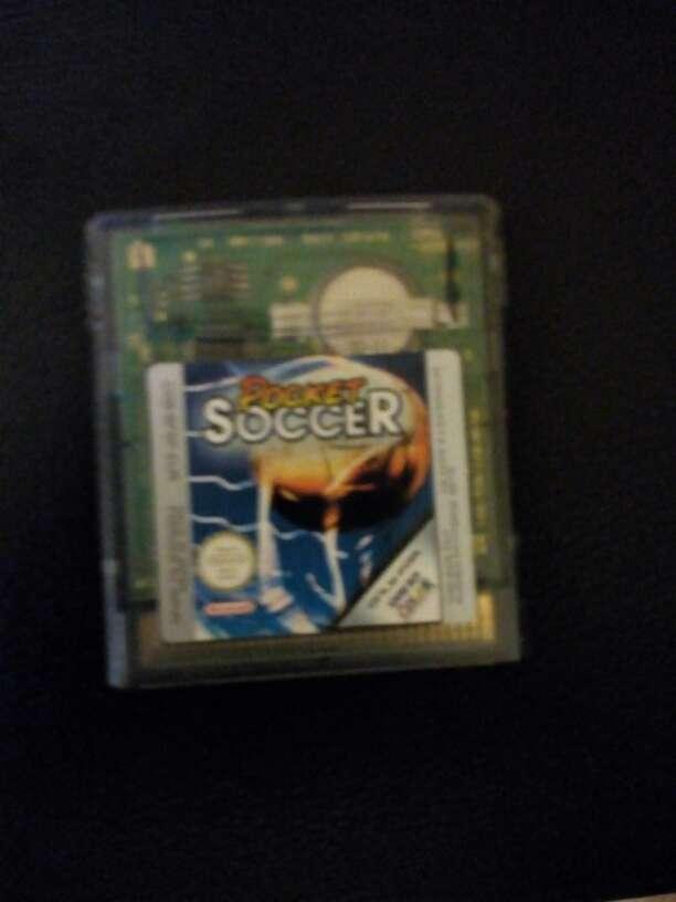 Imagen Juego Game boy color Pocket Soccer