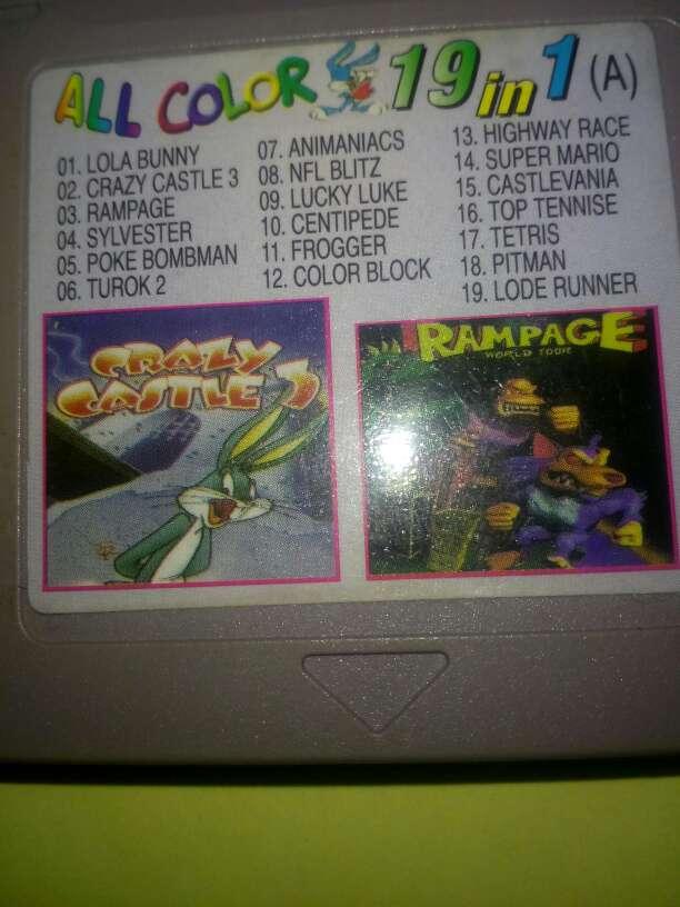 Imagen Juegos Game boy color 19 juegos en 1