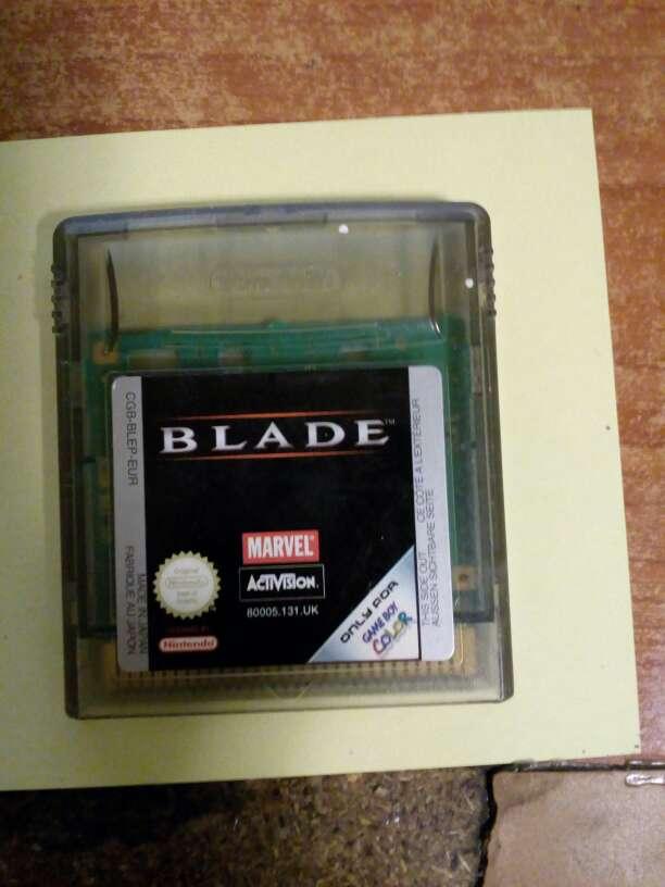 Imagen Juego Game boy color Blade