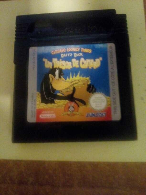 Imagen Juego Game boy color Daffy Duck