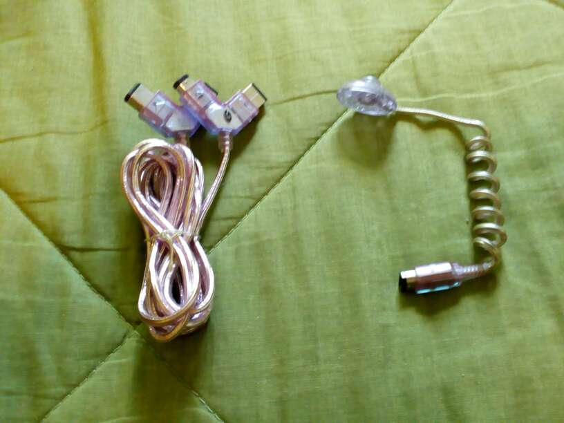 Imagen Cable link y lampara de luz Game boy