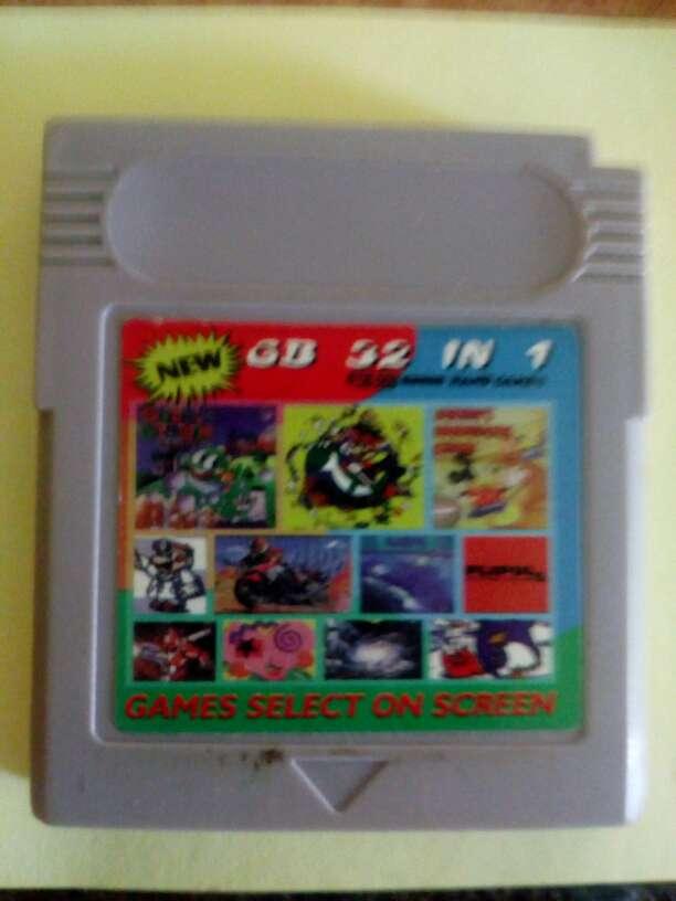 Imagen Juegos Game boy 32 juegos en uno