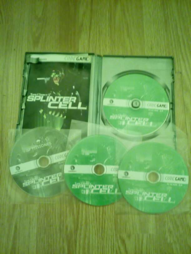 Imagen Tom clancy's splinter cell para PC