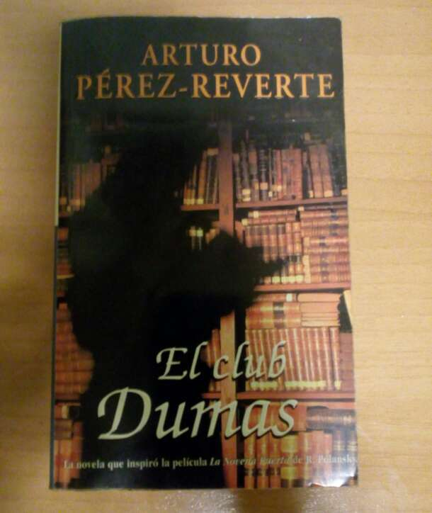 Imagen Libro Arturo Pérez-Reverte el club Dumas