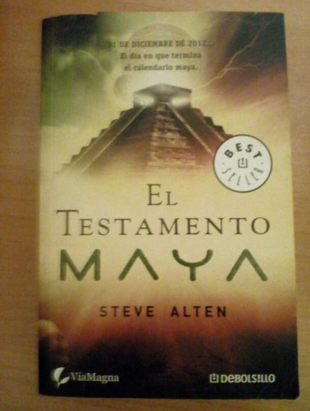 Imagen Libro El testamento Maya - Steve Alten