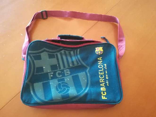 Imagen Cartera escolar FC Barcelona