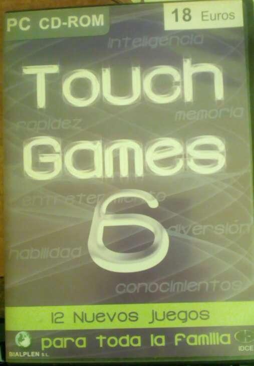Imagen producto Touch games pc 12 juegos Vol 6 2