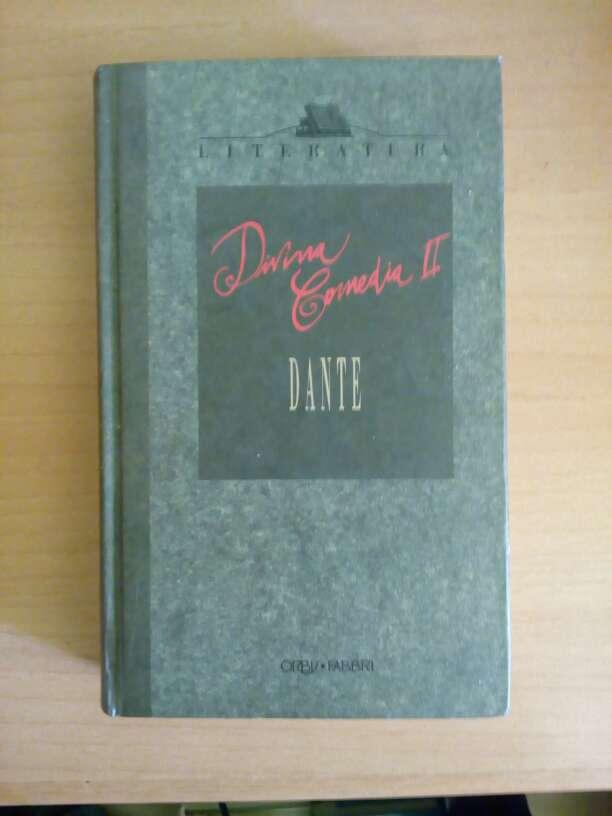 Imagen Libro Divina comedia II-Dante