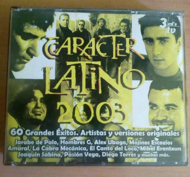 Imagen Carácter latino 2003 3 cds