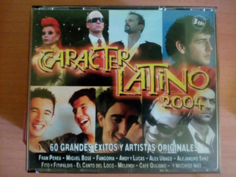 Imagen producto Carácter Latino 2004- 3 cds 1