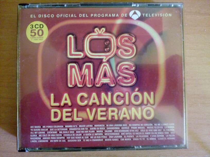 Imagen Los Mas (La Canción Del Verano)-2005-3 cds