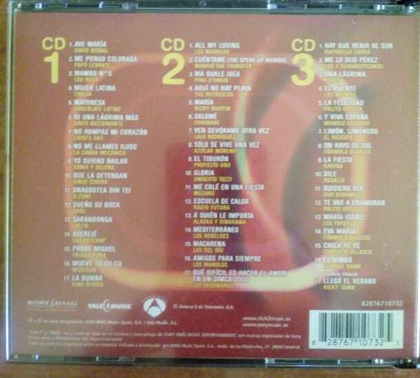 Imagen producto Los Mas (La Canción Del Verano)-2005-3 cds 2