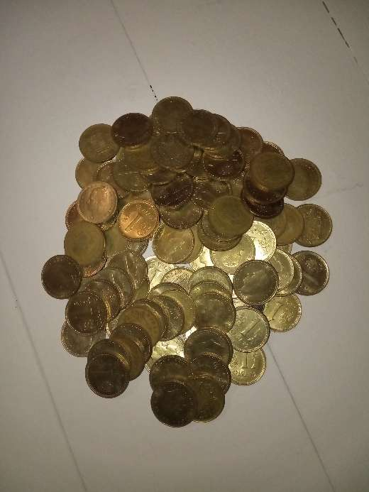 Imagen producto Lote 140 monedas de las antiguas pesetas. 4