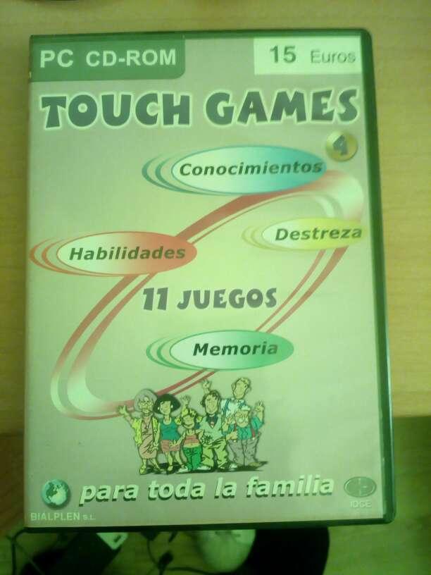Imagen touch games pc 11 juegos Vol 4