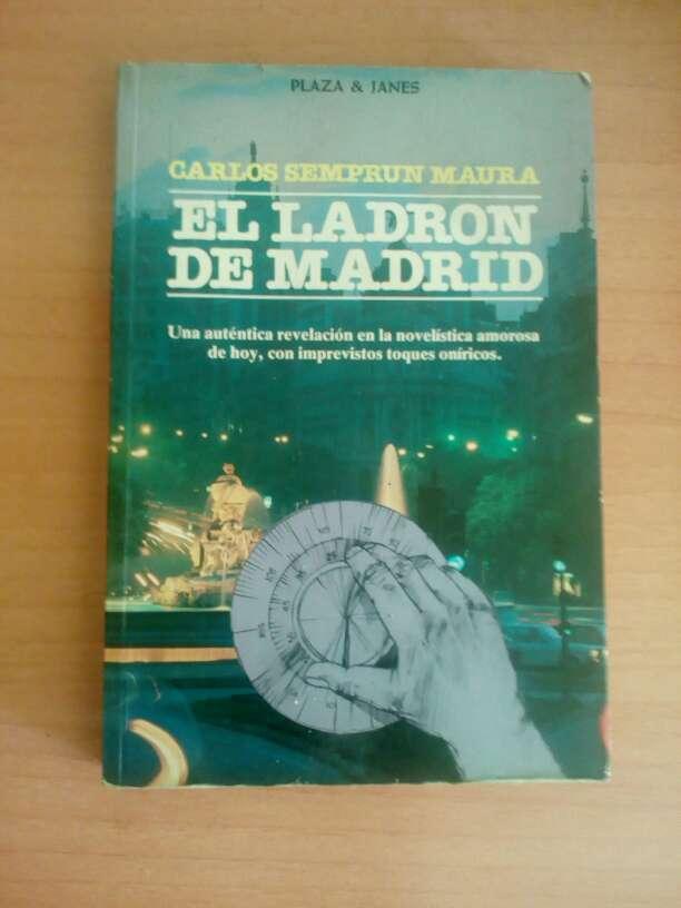 Imagen Libro.El ladron de Madrid