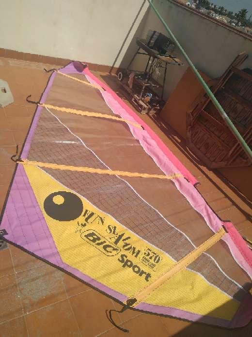 Imagen Vela de windsurf