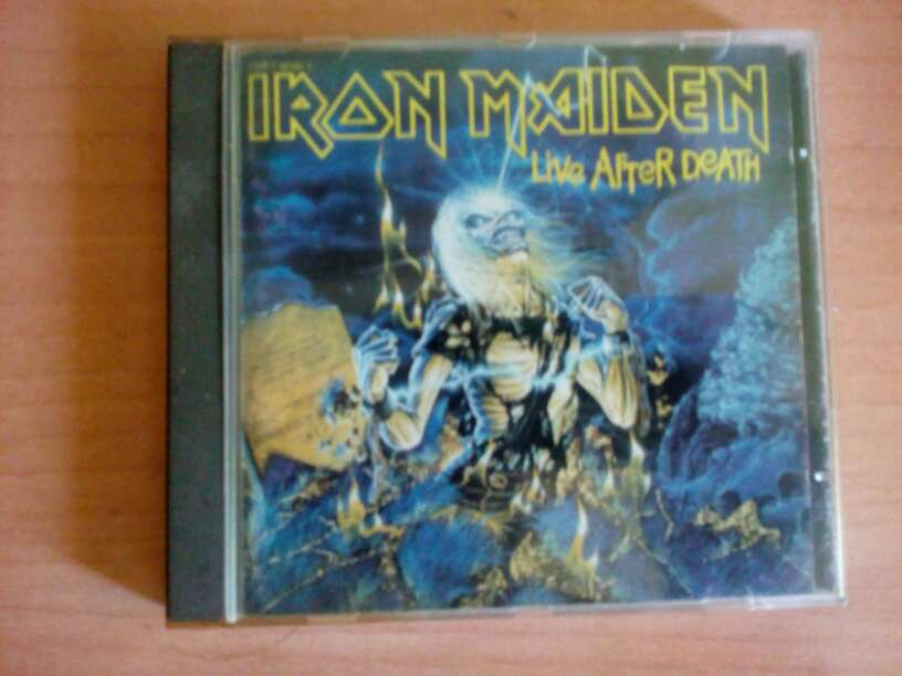 Imagen Iron Maiden- live after death