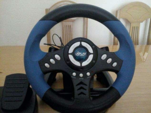 Imagen producto Volante y pedales PC/PS2/PS3 2