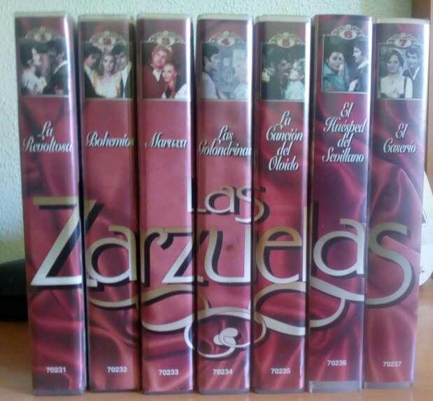 Imagen producto Las Zarzuelas colección 7 vhs 1