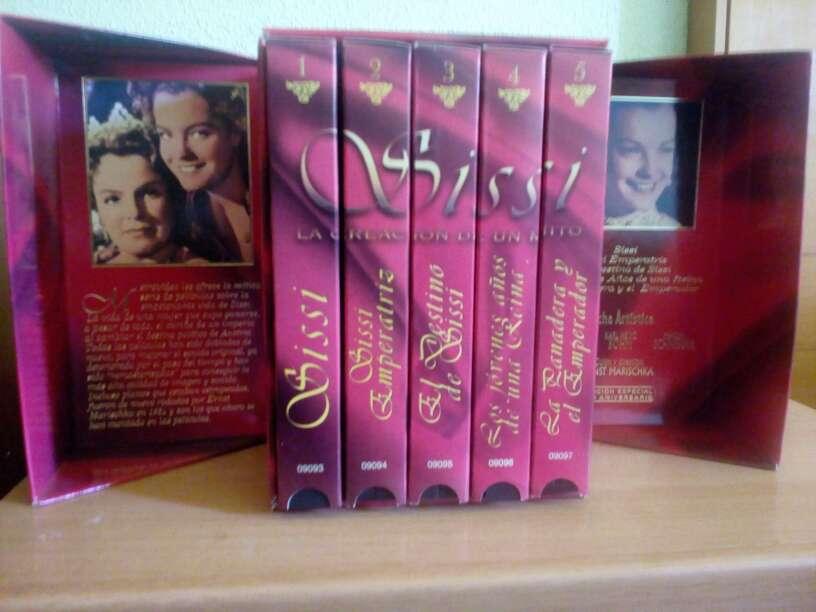 Imagen Sissi: La creación de un mito 5 cintas VHS