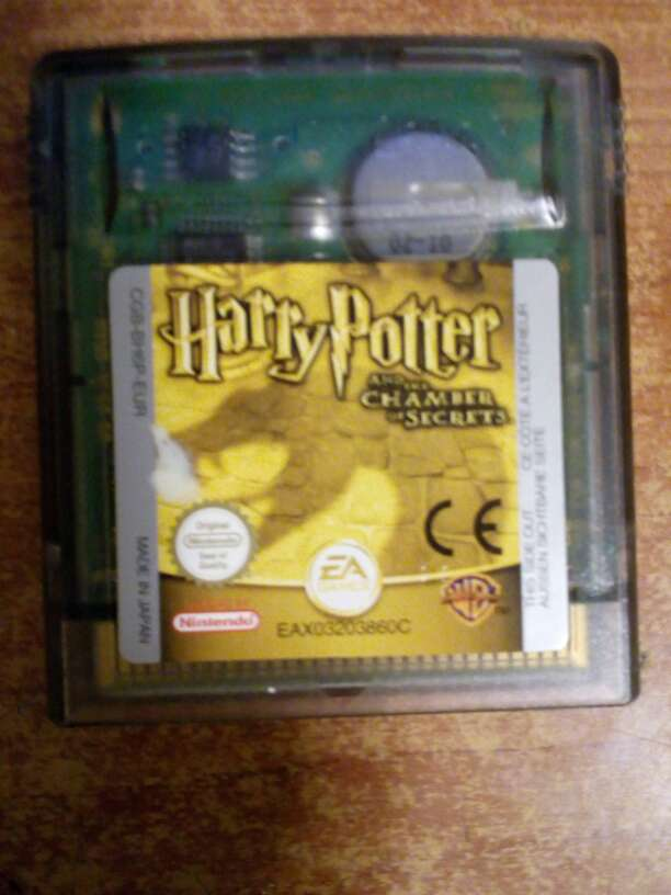 Imagen Juego Game boy color Harry Potter y la Camara secr