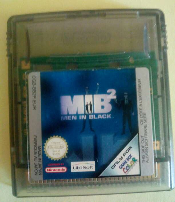Imagen producto MIB Men in Black 2 Game boy color 1