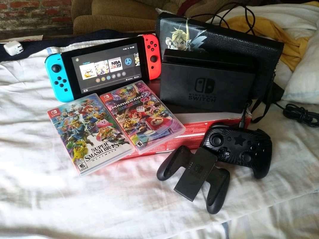 Imagen Hermosa Nintendo switch