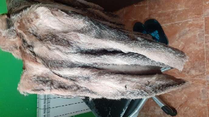 Imagen producto Chaqueta de piel de zorro auténtica.  9