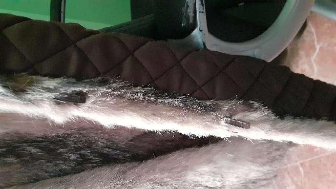 Imagen producto Chaqueta de piel de zorro auténtica.  3