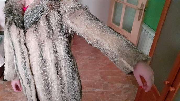 Imagen producto Chaqueta de piel de zorro auténtica.  7