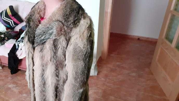 Imagen producto Chaqueta de piel de zorro auténtica.  5
