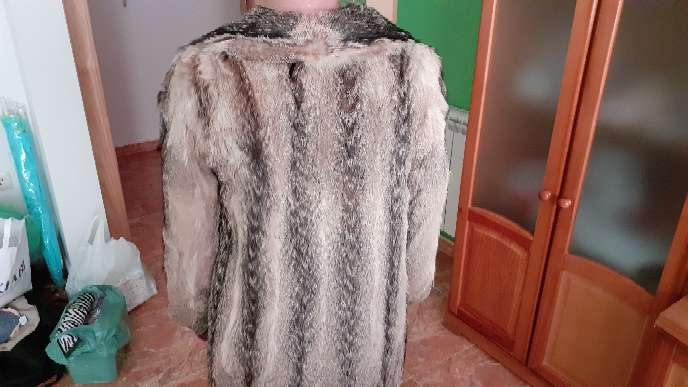 Imagen producto Chaqueta de piel de zorro auténtica.  6