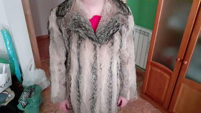 Imagen producto Chaqueta de piel de zorro auténtica.  10