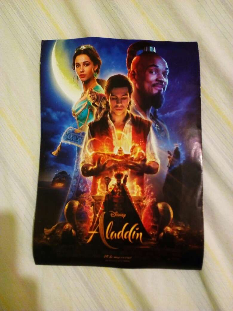 Imagen producto Poster Aladdin (2019) 1