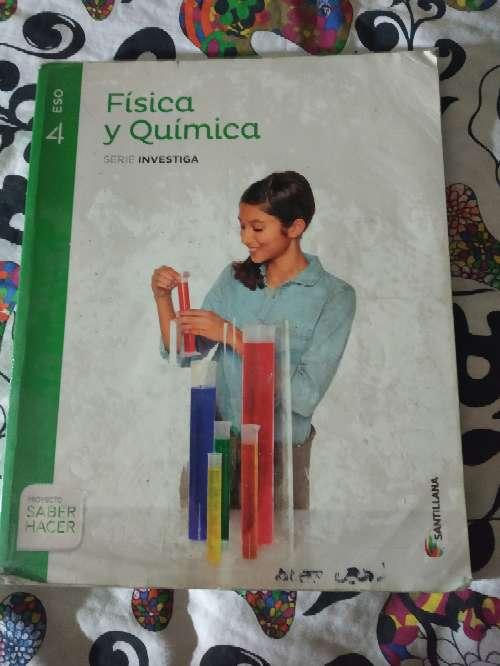Imagen Libro Física y Química 4°ESO