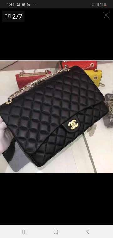 Imagen producto Chanel bolso negro y colores 1