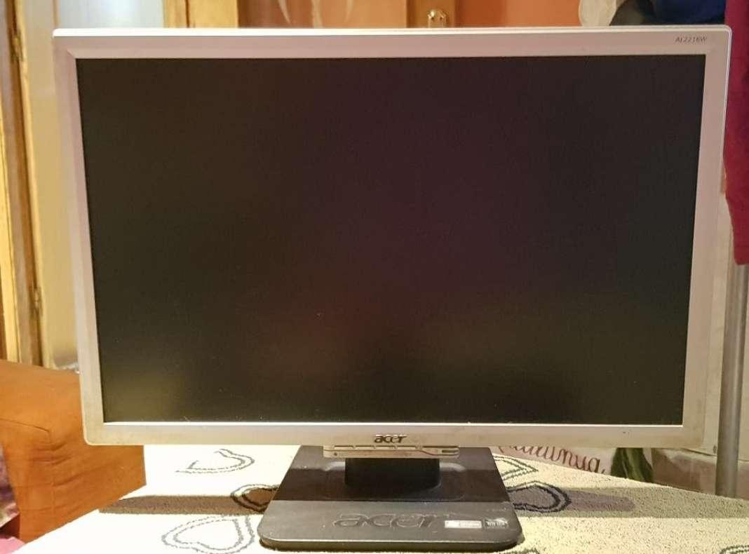 Imagen pantalla, teclado y ratón