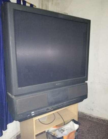 Imagen televisión sony antigua
