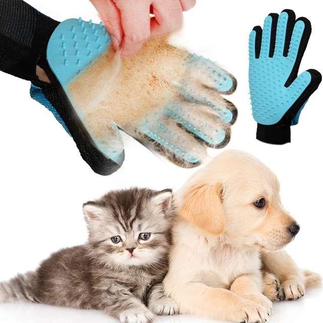 Imagen guantes para mascotas