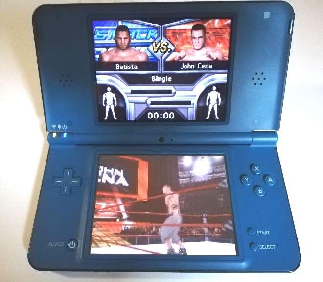 Imagen Nintendo DSi XL Azul oscuro + Cargador y Funda