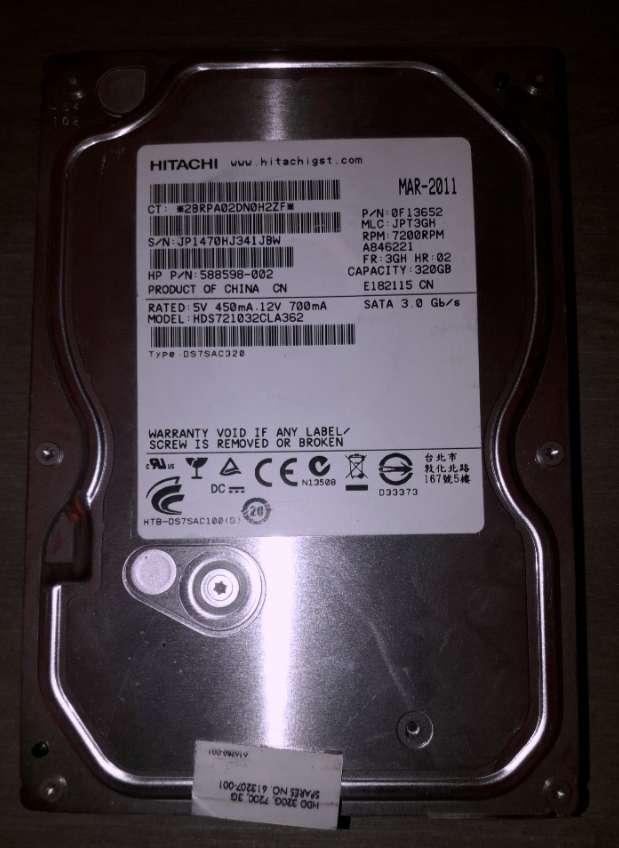 Imagen Disco Duro Sata 3.5 Hitachi 320Gb